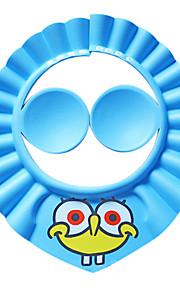 귀 보호 만화 샴푸 샤워 캡 목욕 및 양산 아기 아이 아이 소프트 캡 모자를 보호