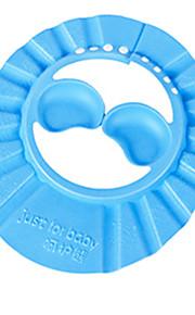 ouvido bonito proteger seguro banho de shampoo touca de banho e guarda-sol proteger chapéu cap macia para bebê crianças crianças
