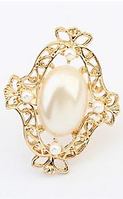 Alliances Femme / Amoureux / Unisexe Imitation de perle Alliage Alliage