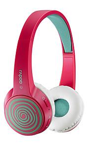 opprinnelige Rapoo s100 mote bluetooth 4.1 stereo headset utskiftbart deksel hifi hodetelefoner med mikrofon rose