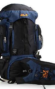 70L L Paquetes de Mochilas de Camping / Ciclismo Mochila / mochila Acampada y Senderismo / Escalar / ViajeAl Aire Libre / Deportes de