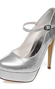 Chaussures de mariage-Argent-Mariage / Soirée & Evénement / Habillé-Talons-Talons-Homme