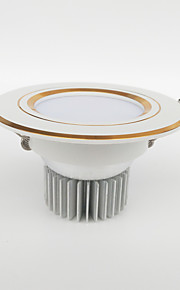 ZDM® 5W Dimmable LED Downlights  Warm White/Cool White/Natural White/Pink/Red/Blue/Yellow/Green AC12/24V AC110/220V