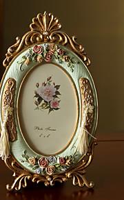 Vintage Theme Résine Cadre photo / Album photo / Plaque de porte Chocolat