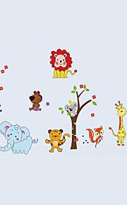 Животные / ботанический / Мультипликация / Натюрморт / Мода / Отдых Наклейки Простые наклейки,PVC 90*60*0.1