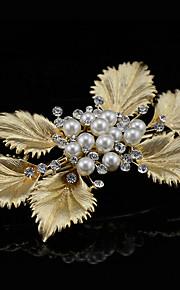 Donne Perle / Lega Copricapo-Matrimonio / Occasioni speciali / Formale Fermacapelli 1 pezzo