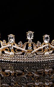 Women's Pearl / Crystal / Alloy Headpiece-Wedding / Special Occasion / Casual / Outdoor Tiaras 1 Piece