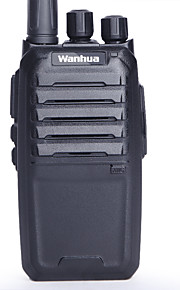 Wanhua W3600 Walkie-talkie 5W 16 400 - 470 MHz 1800mAh 1.5 Km - 3 Km Richiesta vocale / Segnale di batteria scarica / CTCSS/CDCSS 无