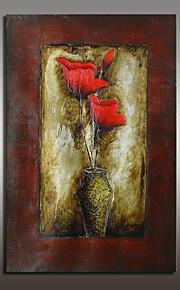 מצויר ביד טבע דומם מודרני,פנל אחד ציור שמן צבוע-Hang