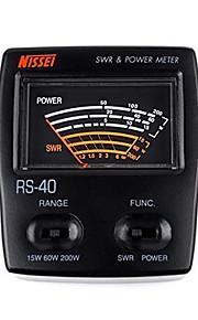 Nissel rs-40 dual-band staande golf meter power meter SWR-meter voor het testen swr macht