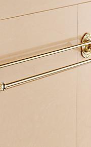 Håndklædestang / Ti-PVD / Vægmonteret /24.4*5.7*2.2 inch /Messing /Moderne /62CM 14.4CM 1.4