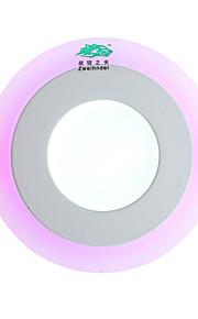 3W Plafondlampen 5500-6500K lm Natuurlijk wit / Violet SMD 2835 Dimbaar / Decoratief / Waterbestendig AC 85-265 V 1 stuks