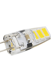 3W G4 LED à Double Broches T 6 SMD 5730 200 lm Blanc Chaud / Blanc Froid Etanches DC 12 V 1 pièce