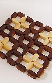 Bamboe Vierkant Placemats / Onderzetters