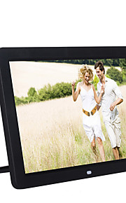 12 inch Digital Picture Frame 1280*800 USB 2.0 with Clock/Music&Movie Play Support 14 Country Languages