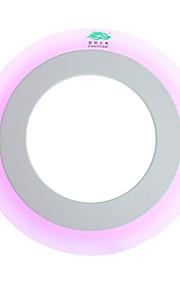6W Plafondlampen 5500-6500K lm Natuurlijk wit / Violet SMD 2835 Dimbaar / Decoratief / Waterbestendig AC 85-265 V 1 stuks