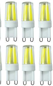 3W G9 LED à Double Broches T 4LED COB 280-400 lm Blanc Chaud / Blanc Froid / Blanc Naturel Gradable / Décorative / EtanchesAC 100-240 /