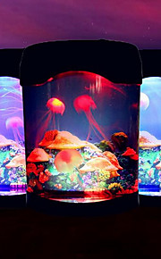 Aquarium elektronische Quallen Lichter kreative usb Desktop Aquarium LEDNightlight
