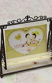 "7"" Plastic Picture Frame for Home Decoration"