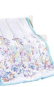 patrón geométrico verano fresco edredón de algodón completa