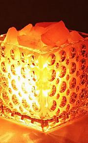 kreativ himalaya salt krystal europæiske dekorative lille lampe soveværelse varme nightlights