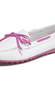 Women's Shoes Synthetic Spring/Fall/Winter Creepers Slip-on Athletic/ Casual Platform Flats Black/White/Pink