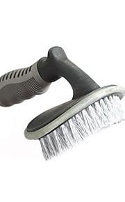 herramientas de limpieza del coche de la alfombra alfombra de cepillo de suministros de lavado de coches cepillo cepillo de neumáticos