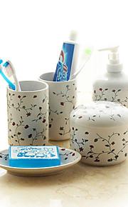 Tvålkopp / lotion flaska / tandborste Cup / Polerad / Övrigt /48cm /Keramisk /Lantlig /18cm 48cm 1.8