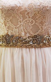 Faixa Elástica Casamento Faixa-Miçangas Feminino 98 ½polegadas(250cm) Miçangas