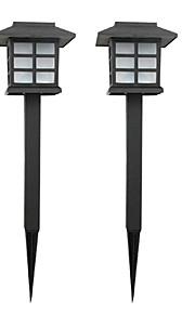 이 태양 광 잔디 램프 정원 지분 빛 경로 산책로의 팩