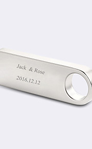 Personalized Gift Bride / Groom / Bridesmaid / Groomsman / Couple / Parents Gifts-1 Piece/Set 2.0 USB drive (8G)
