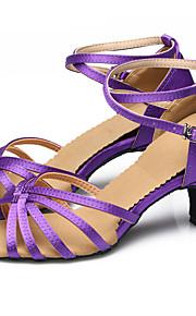Women's Dance Shoes Belly / Latin / Dance Sneakers / Modern / Swing Shoes / Salsa / SambaSatin / Sparkling Glitter /