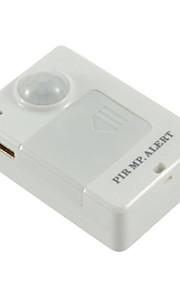 a9 infrarød alarm mini typen tyverialarm a9 gsm positioner menneskelige krop induktion tilbage alarm