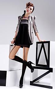 BONAS Women's Solid Color Medium Legging-B69347