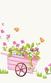 Романтика Наклейки Простые наклейки Декоративные наклейки на стены,PVC материал Положение регулируется Украшение дома Наклейка на стену