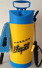 Herramienta de mano de lavado de coches manómetro 8 litros por lavado de coches del hogar portátil
