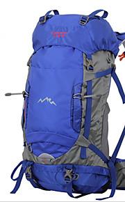 56-75L L Paquetes de Mochilas de Camping / Mochilas de Senderismo / mochila Acampada y Senderismo / Escalar / Viaje Al Aire Libre