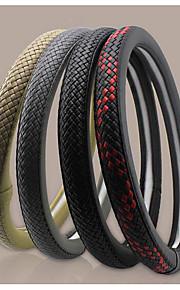 met de hand geweven lederen lijm wielstel zomer auto microfiber vier seizoenen algemene set 47-2c \ 5055