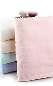 """1 PC Full Cotton Thickening Bath Towel 27"""" by 55"""" Super Soft Solid Multicolor"""