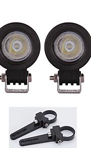 high-power 10W LED verlichting bar truckonderdelen lamp + een tweetal beugels 1,5 inch