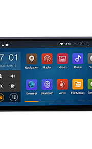 """universele quad core Android 4.4.4 1024 * 600 auto gps 2DIN 7 inch radio 1.6GHz cpu ram 16gb """"capacitive"""" touch screen"""