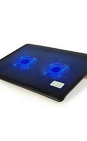 nsn L112 laptop warmteafvoer basis 14 15,6 inch ultra-dunne dubbele radiator fan mute