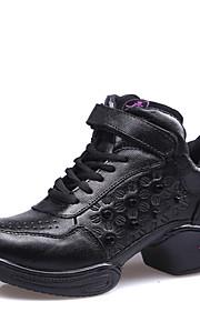 Sapatos de Dança(Preto) -Feminino-Não Personalizável-Jazz / Tênis de Dança