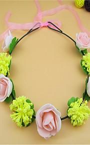 Women's Foam Headpiece-Casual / Outdoor Wreaths 1 Piece Clear