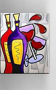 Dipinta a mano Astratto / Natura morta / Fantasia / Paesaggi astratti Dipinti ad olio,Modern / Classico / Mediterraneo / Pastorale /