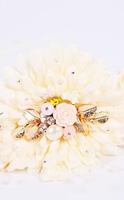 Bouquet sposa Legato Rose Braccialetto floreale Matrimonio / Partito / sera Schiuma 12 cm ca.
