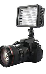 160 ha condotto la video foto lampada di illuminazione luce per dv fotocamere reflex Canon Nikon