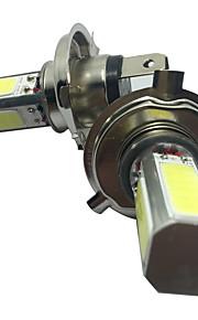 2PCS H4 30W COB LED White Color Low Beam Headlight H4 LED Headlight Kit