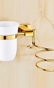 Gadget de Banheiro / Dourada / De Parede /27cm*13.5cm*18cm(10.6*5.3*7.1inch) /Latão / Liga de Zinco /Contemporâneo /27CM 13.5CM 0.8KG