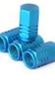 casquillo colorido de tipo universal de aleación de aluminio de la válvula, tapón de la válvula del automóvil, anti fugas casquillo ttyre
